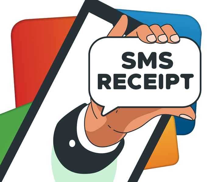SMS Receipts – Be the Change