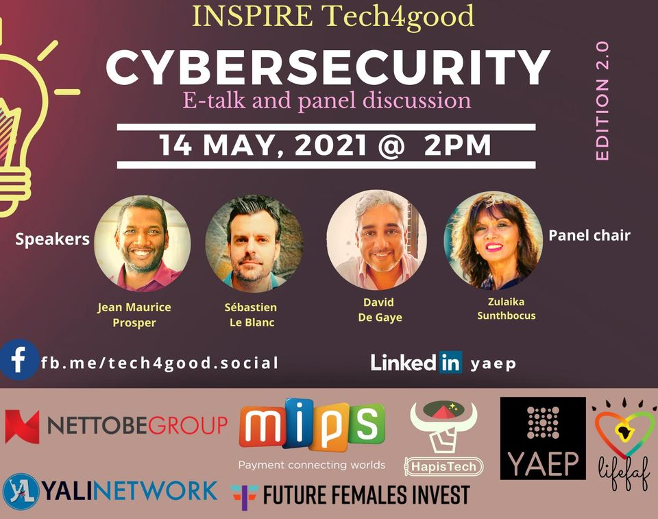 Sebastien Le Blanc in Cybersecurity event
